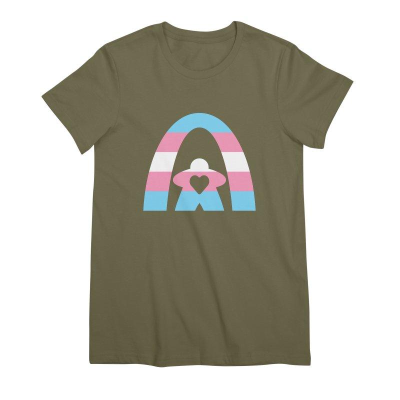Geekway Trans Women's Premium T-Shirt by Geekway's Artist Shop