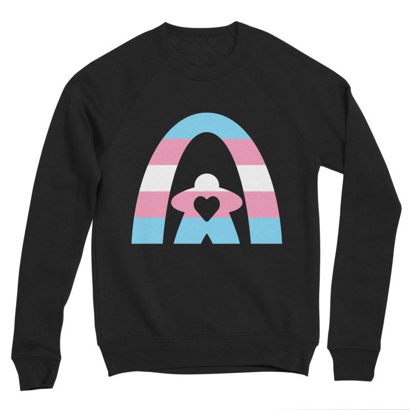 Geekway Trans Men's Sponge Fleece Sweatshirt by Geekway's Artist Shop