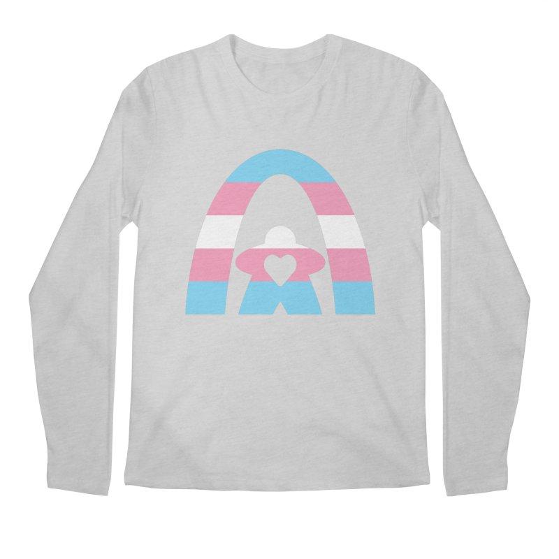 Geekway Trans Men's Regular Longsleeve T-Shirt by Geekway's Artist Shop