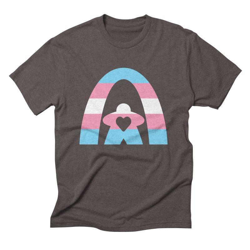 Geekway Trans Men's Triblend T-Shirt by Geekway's Artist Shop