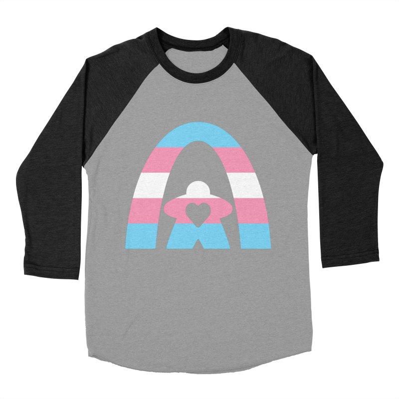 Geekway Trans Men's Baseball Triblend Longsleeve T-Shirt by Geekway's Artist Shop