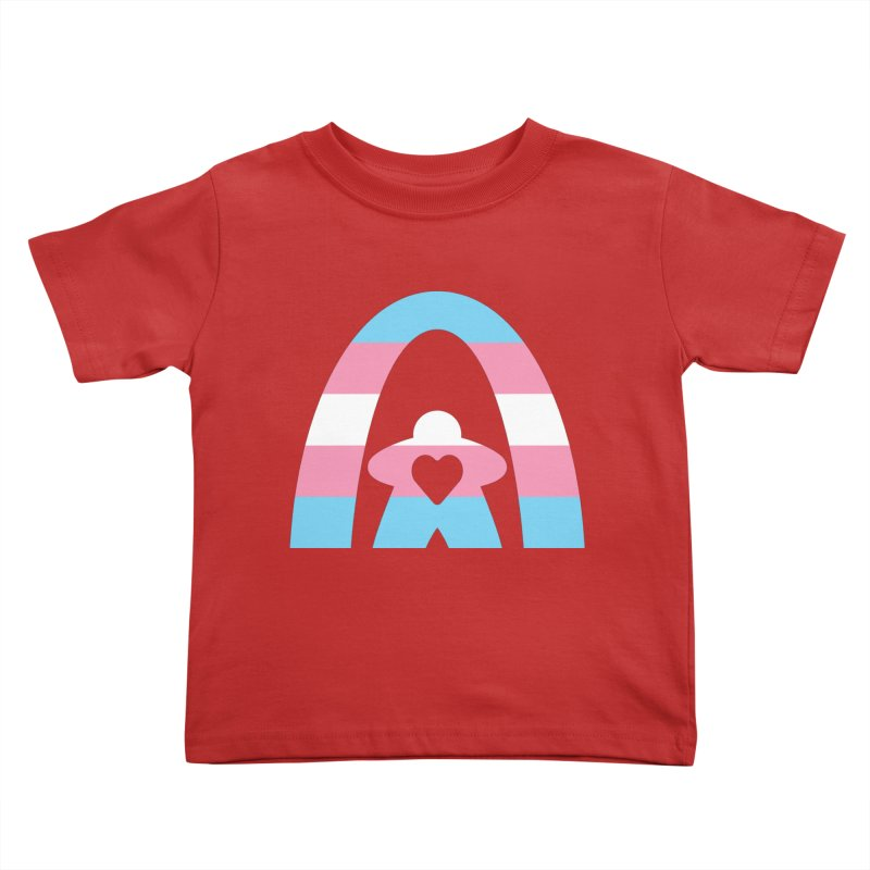 Geekway Trans Kids Toddler T-Shirt by Geekway's Artist Shop