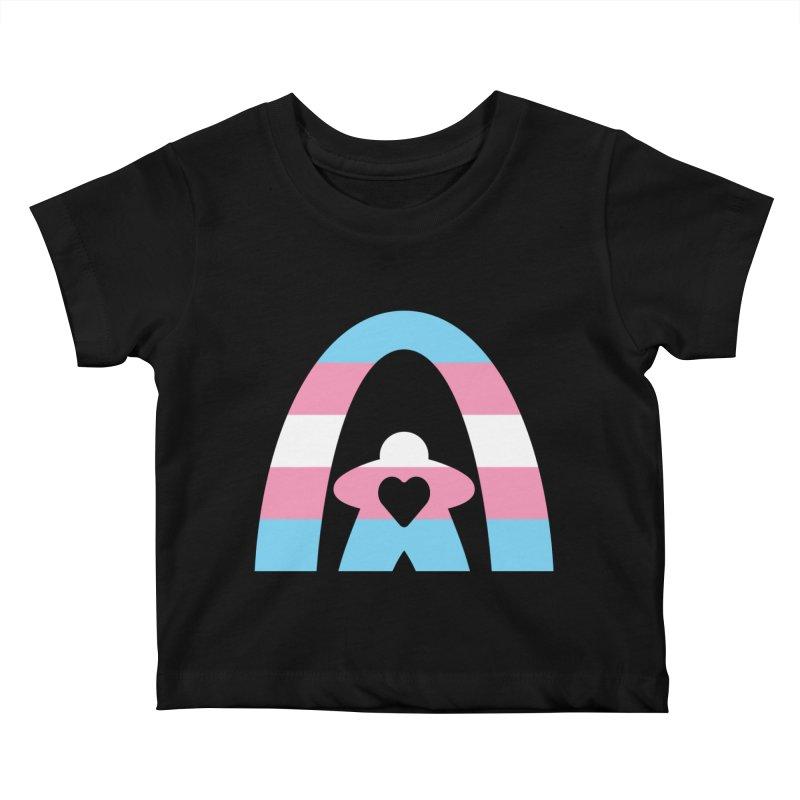 Geekway Trans Kids Baby T-Shirt by Geekway's Artist Shop