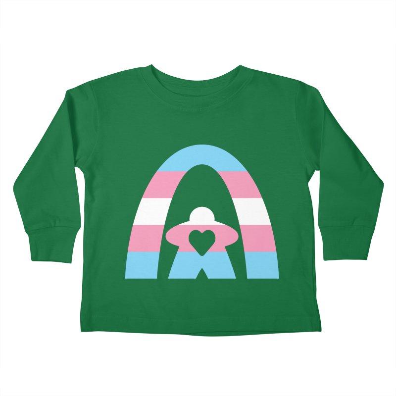 Geekway Trans Kids Toddler Longsleeve T-Shirt by Geekway's Artist Shop