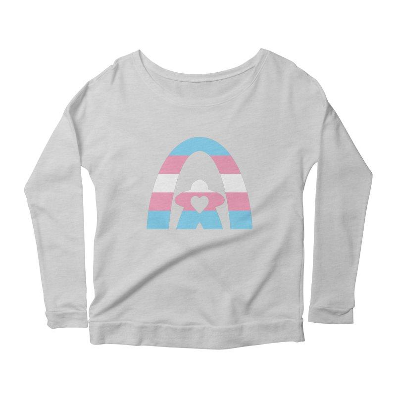 Geekway Trans Women's Scoop Neck Longsleeve T-Shirt by Geekway's Artist Shop