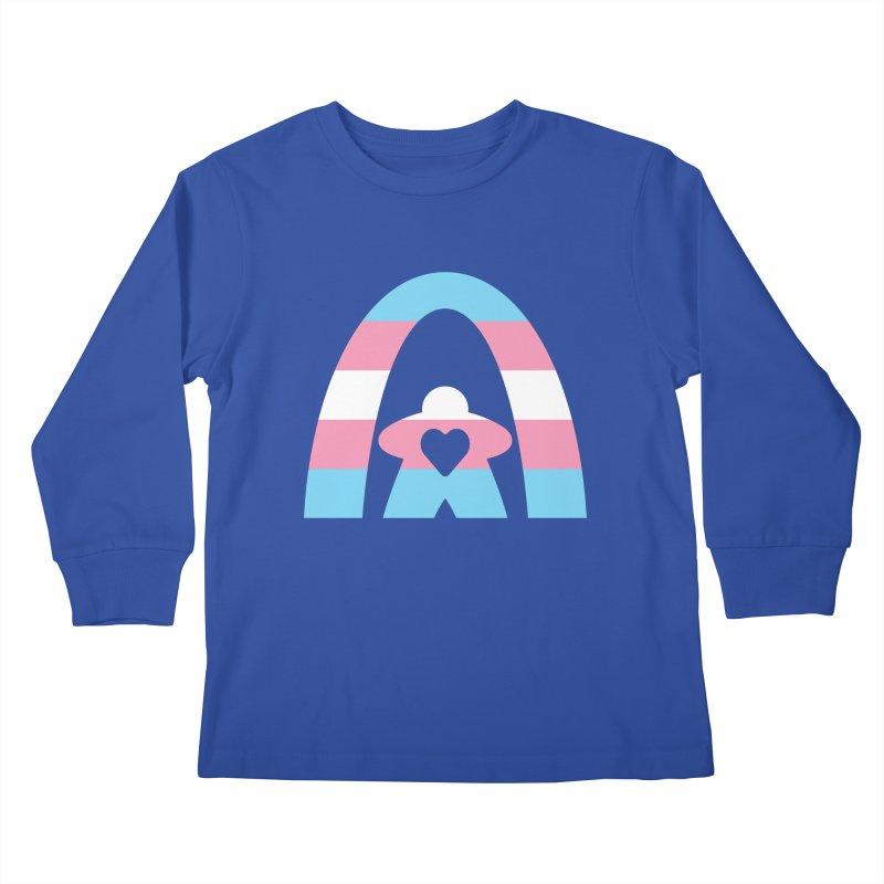 Geekway Trans Kids Longsleeve T-Shirt by Geekway's Artist Shop