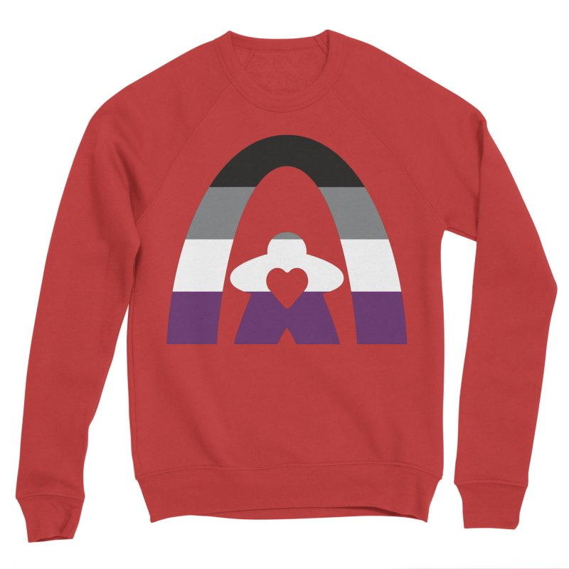 Geekway Aces Men's Sponge Fleece Sweatshirt by Geekway's Artist Shop