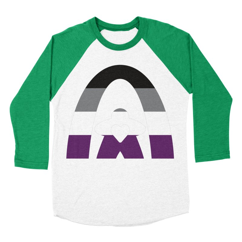 Geekway Aces Women's Baseball Triblend Longsleeve T-Shirt by Geekway's Artist Shop