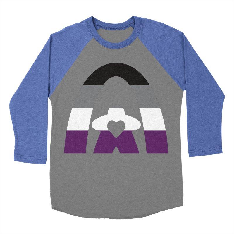 Geekway Aces Men's Baseball Triblend Longsleeve T-Shirt by Geekway's Artist Shop