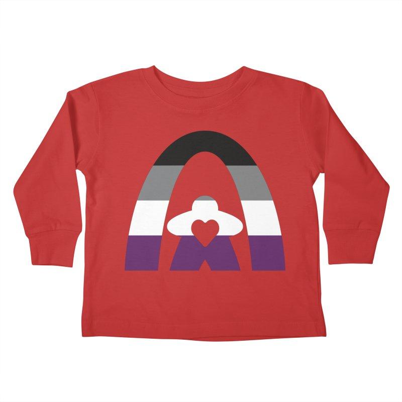 Geekway Aces Kids Toddler Longsleeve T-Shirt by Geekway's Artist Shop