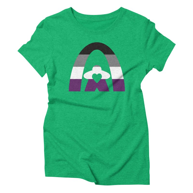 Geekway Aces Women's Triblend T-Shirt by Geekway's Artist Shop