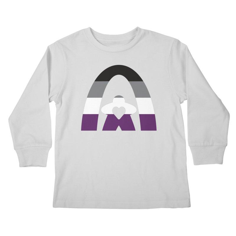 Geekway Aces Kids Longsleeve T-Shirt by Geekway's Artist Shop