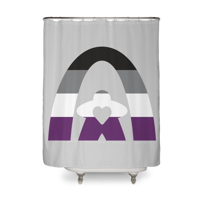 Geekway Aces Home Shower Curtain by Geekway's Artist Shop