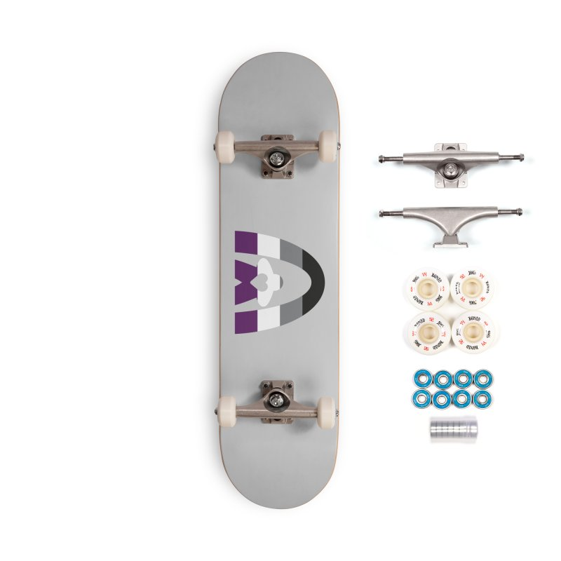 Geekway Aces Accessories Complete - Premium Skateboard by Geekway's Artist Shop
