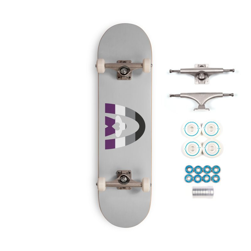 Geekway Aces Accessories Complete - Basic Skateboard by Geekway's Artist Shop
