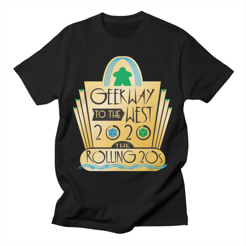 Geekway to the West 2020 theme shirt Men's T-Shirt by Geekway's Artist Shop