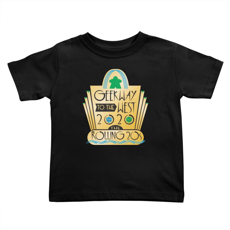 Geekway to the West 2020 theme shirt Kids Toddler T-Shirt by Geekway's Artist Shop