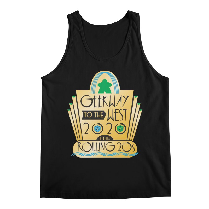 Geekway to the West 2020 theme shirt Men's Tank by Geekway's Artist Shop
