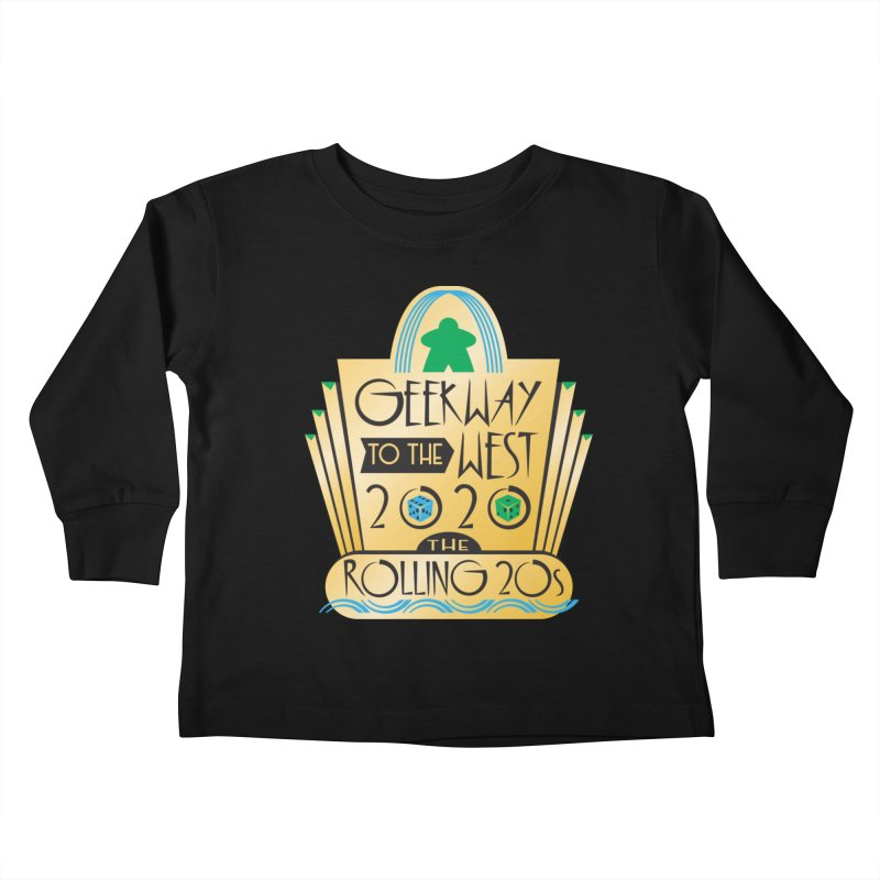 Geekway to the West 2020 theme shirt Kids Toddler Longsleeve T-Shirt by Geekway's Artist Shop