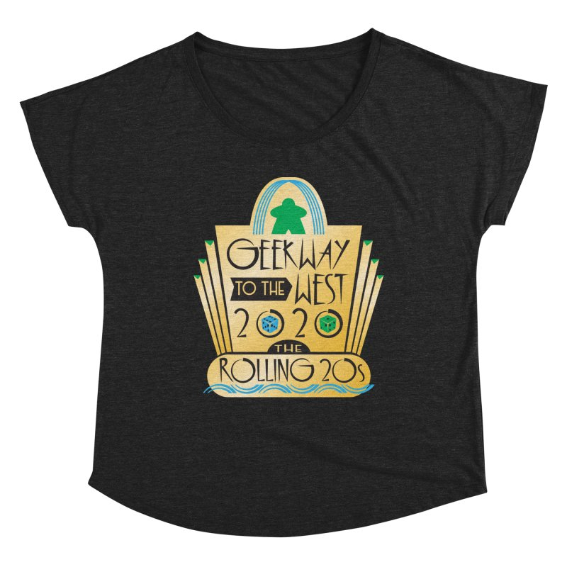 Geekway to the West 2020 theme shirt Women's Scoop Neck by Geekway's Artist Shop