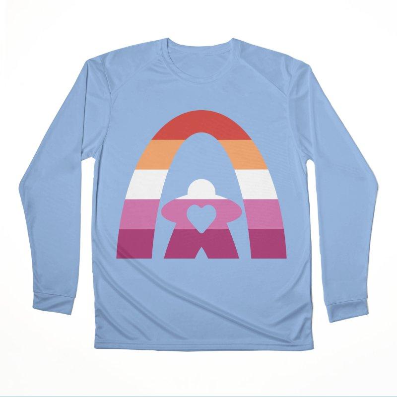 Geekway Lesbian pride shirt Men's Longsleeve T-Shirt by Geekway's Artist Shop