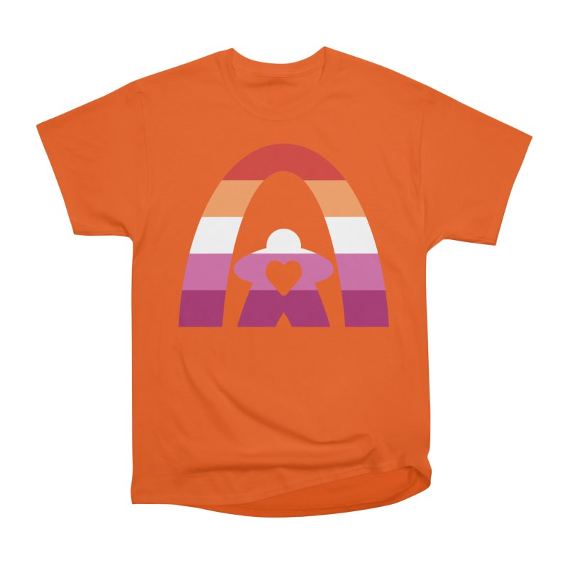 Geekway Lesbian pride shirt Men's T-Shirt by Geekway's Artist Shop