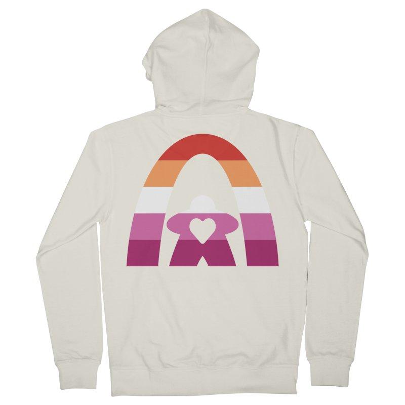 Geekway Lesbian pride shirt Men's Zip-Up Hoody by Geekway's Artist Shop