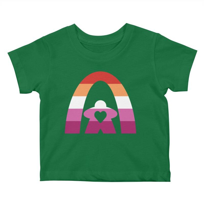 Geekway Lesbian pride shirt Kids Baby T-Shirt by Geekway's Artist Shop