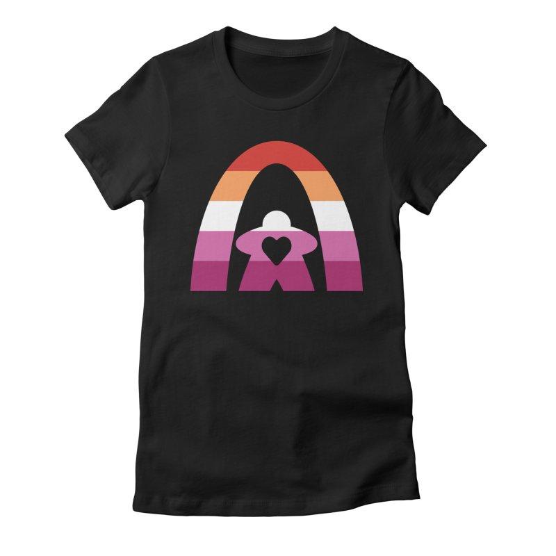 Geekway Lesbian pride shirt Women's T-Shirt by Geekway's Artist Shop