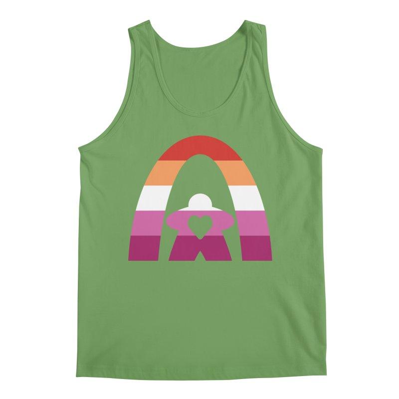 Geekway Lesbian pride shirt Men's Tank by Geekway's Artist Shop