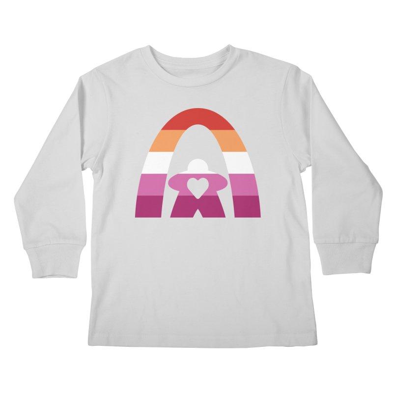 Geekway Lesbian pride shirt Kids Longsleeve T-Shirt by Geekway's Artist Shop