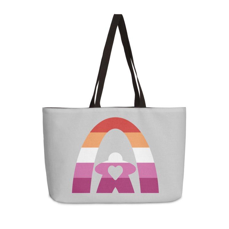 Geekway Lesbian pride shirt Accessories Bag by Geekway's Artist Shop