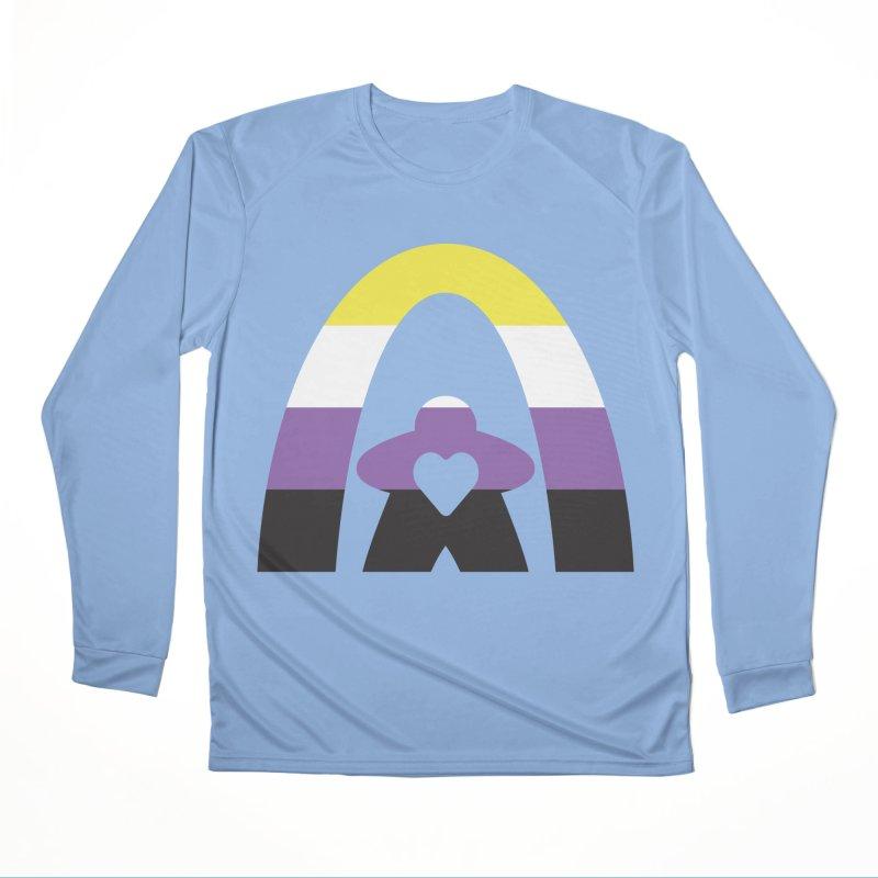 Geekway Pride Non Binary Shirt Women's Longsleeve T-Shirt by Geekway's Artist Shop