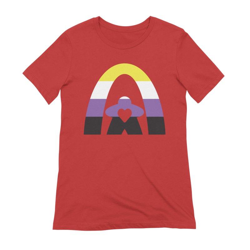 Geekway Pride Non Binary Shirt Women's T-Shirt by Geekway's Artist Shop