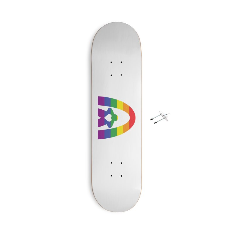 Geekway Pride Accessories With Hanging Hardware Skateboard by Geekway's Artist Shop