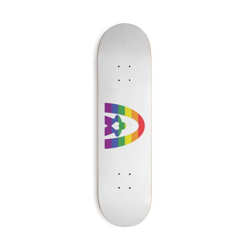 Geekway Pride Accessories Deck Only Skateboard by Geekway's Artist Shop