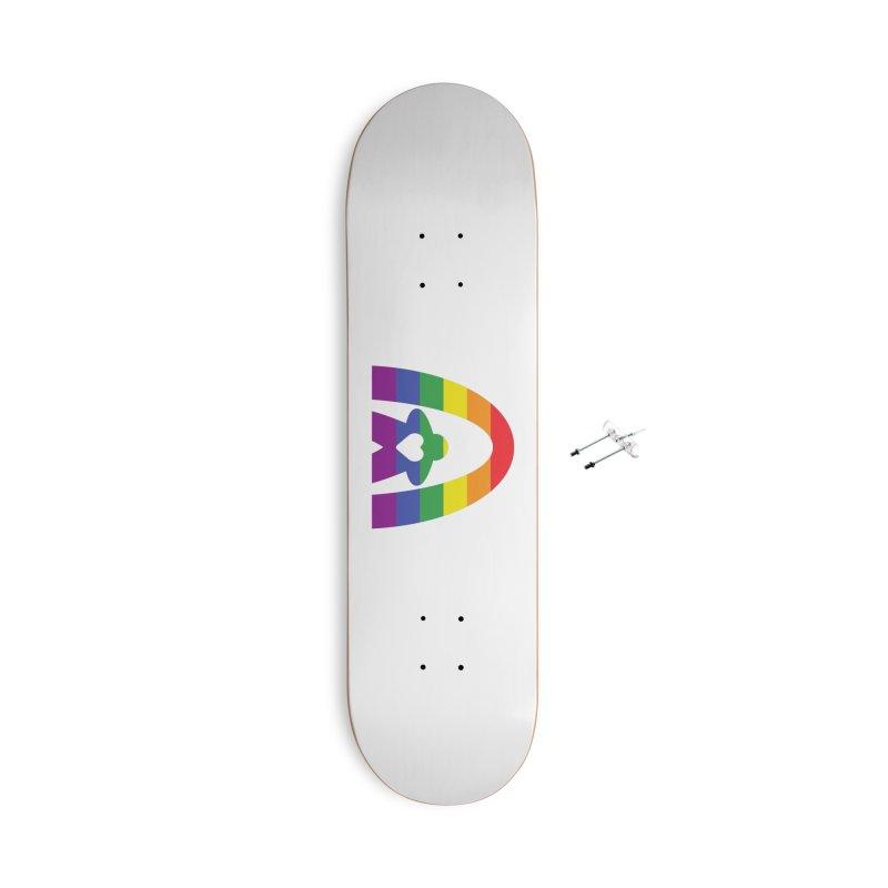 Geekway Pride Accessories Skateboard by Geekway's Artist Shop