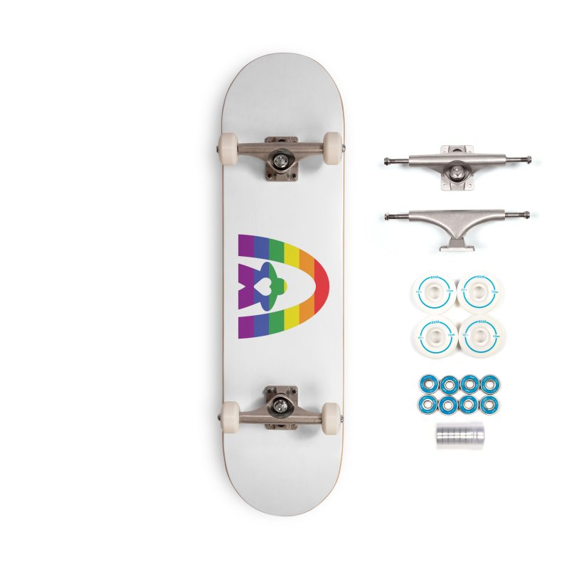 Geekway Pride Accessories Skateboard by Geekway's Artist Shop