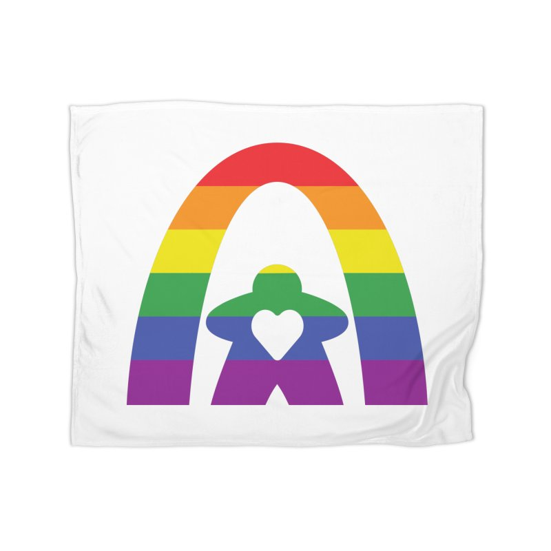 Geekway Pride Home Fleece Blanket Blanket by Geekway's Artist Shop