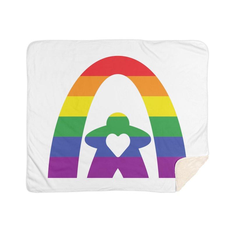 Geekway Pride Home Sherpa Blanket Blanket by Geekway's Artist Shop
