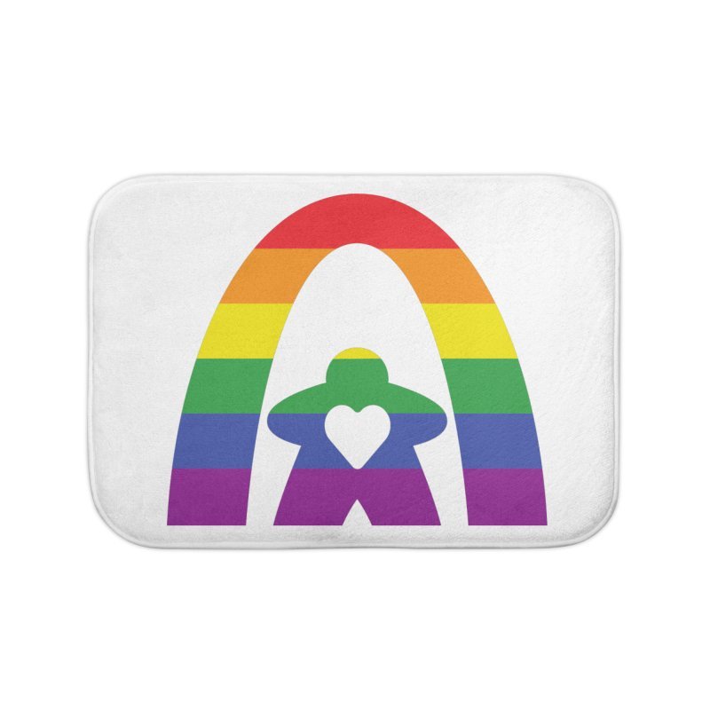 Geekway Pride Home Bath Mat by Geekway's Artist Shop