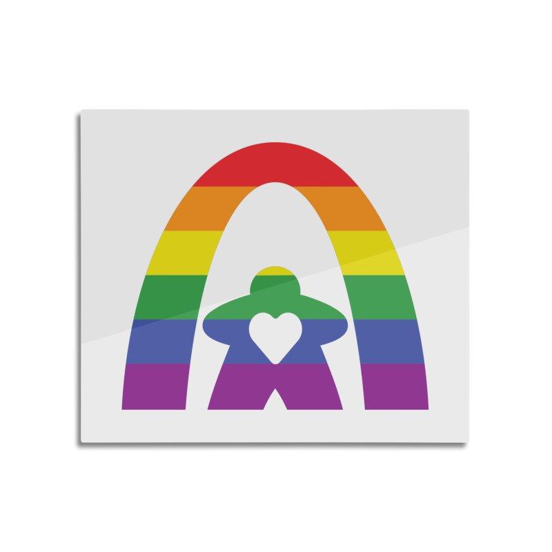 Geekway Pride Home Mounted Acrylic Print by Geekway's Artist Shop
