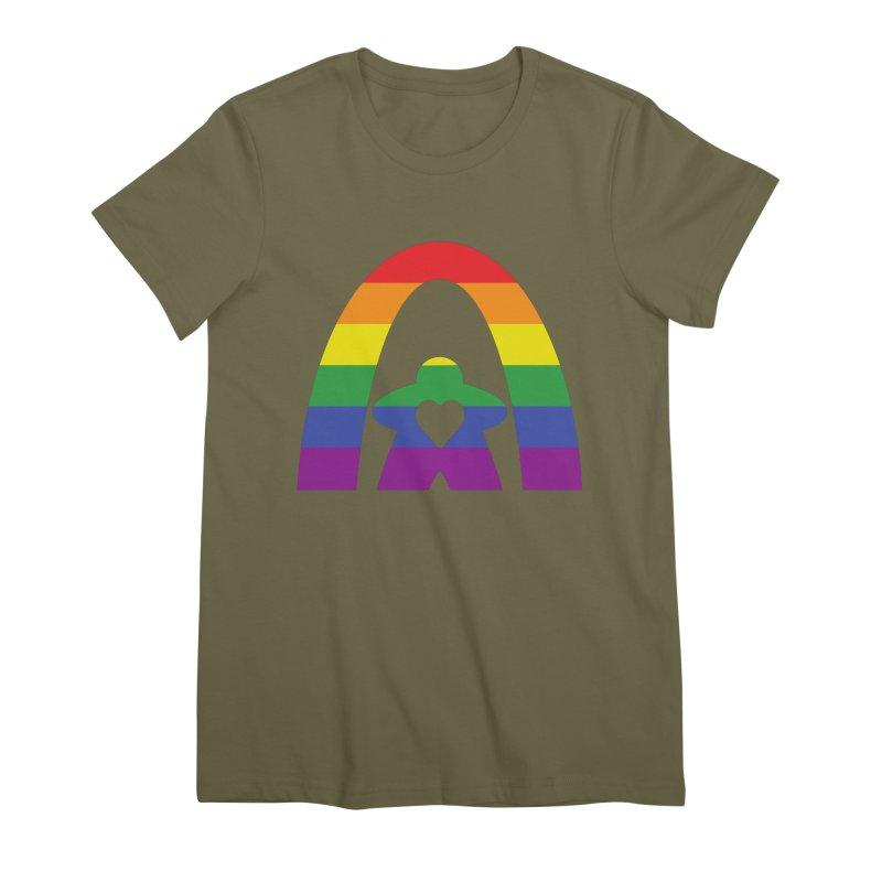 Geekway Pride Women's Premium T-Shirt by Geekway's Artist Shop