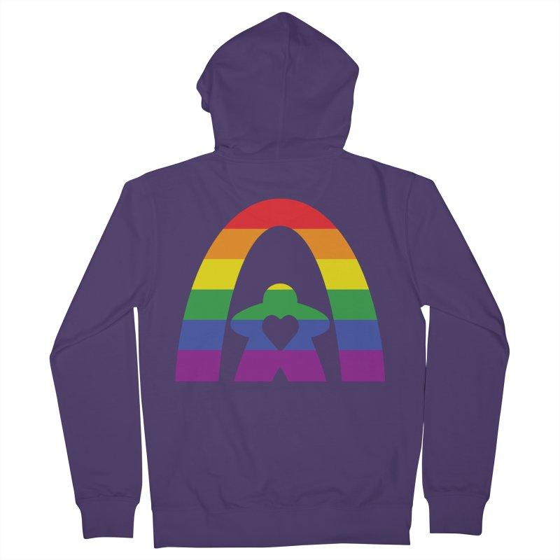 Geekway Pride Women's French Terry Zip-Up Hoody by Geekway's Artist Shop