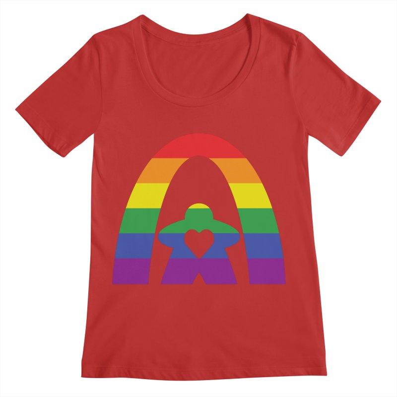 Geekway Pride Women's Regular Scoop Neck by Geekway's Artist Shop