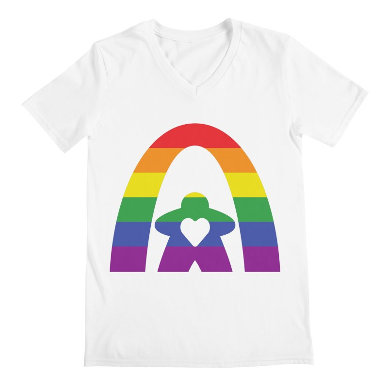 Geekway Pride Men's Regular V-Neck by Geekway's Artist Shop