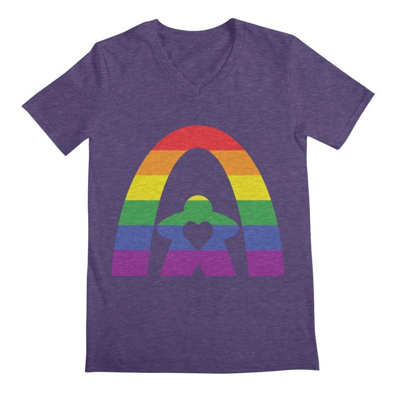 Geekway Pride Men's V-Neck by Geekway's Artist Shop