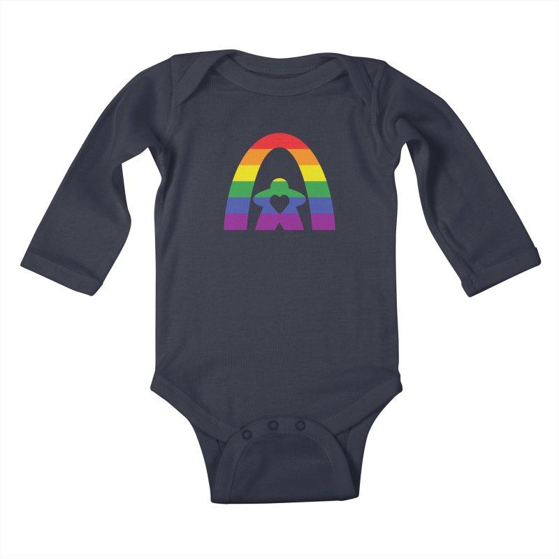 Geekway Pride Kids Baby Longsleeve Bodysuit by Geekway's Artist Shop