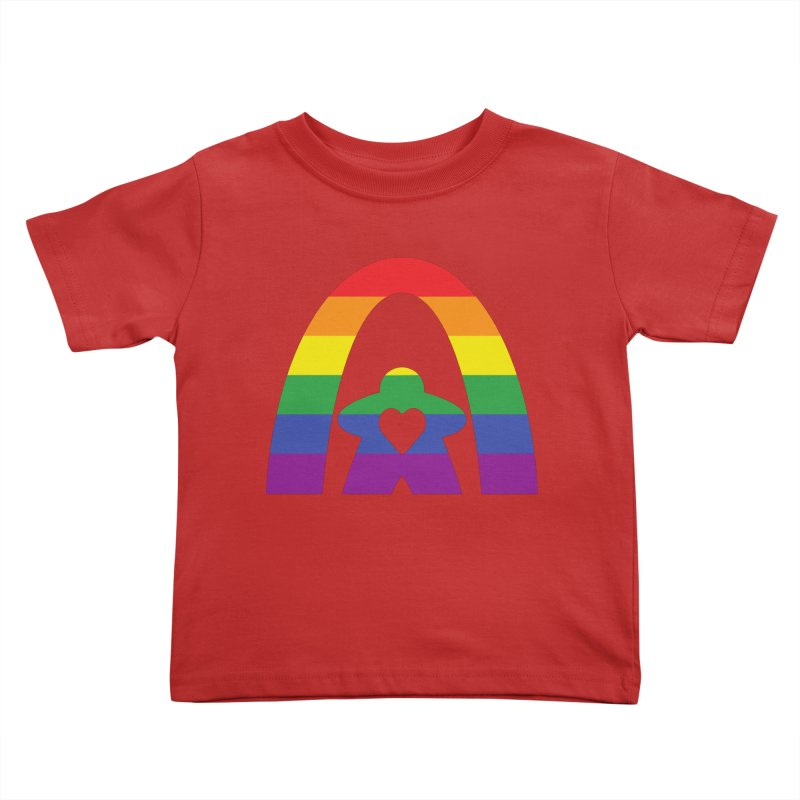 Geekway Pride Kids Toddler T-Shirt by Geekway's Artist Shop