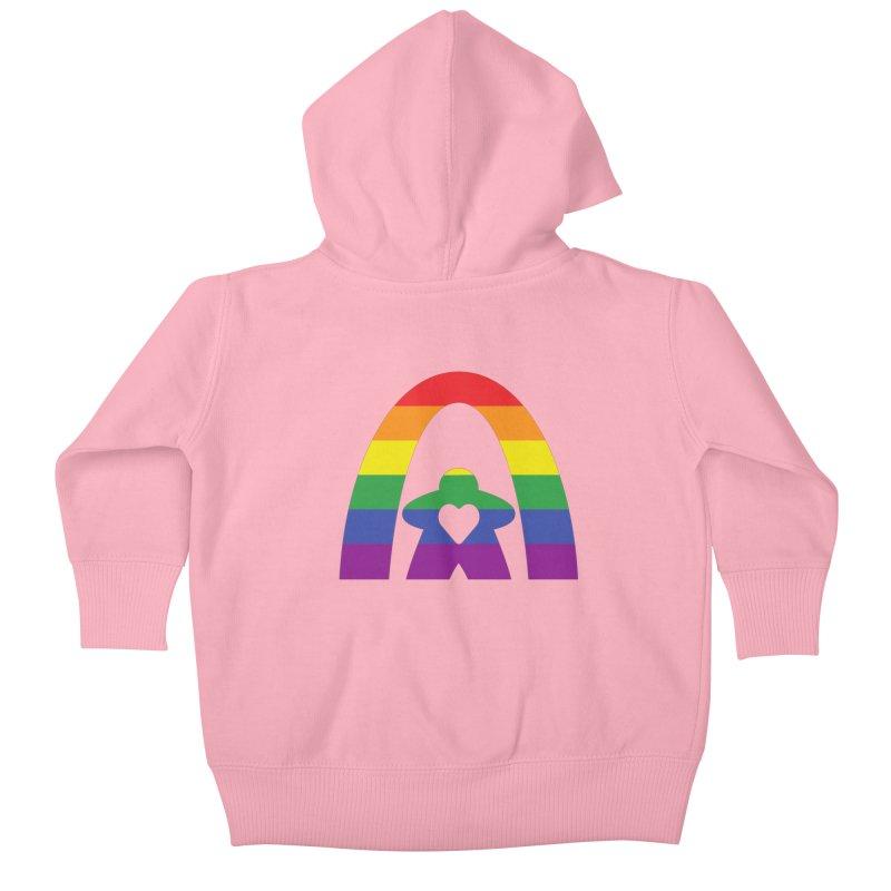 Geekway Pride Kids Baby Zip-Up Hoody by Geekway's Artist Shop